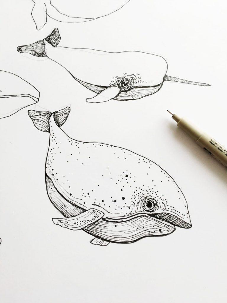 making of ocean by poofi