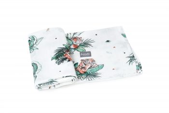 Poofi tropical swaddle tigers
