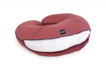 pillowcase nursing maroon