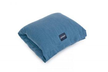 nursing pillow arm band wrap sleeve organic cotton honey denim