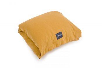 nursing pillow arm band wrap sleeve organic cotton honey mustard