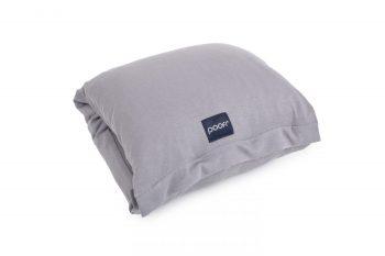 nursing pillow arm band wrap sleeve organic cotton grey