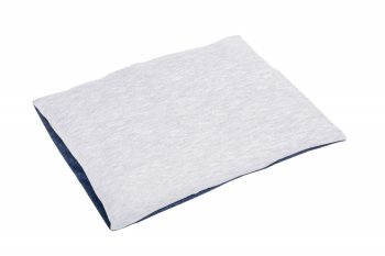 Baby Pillow Cotton Grey Blue Pure