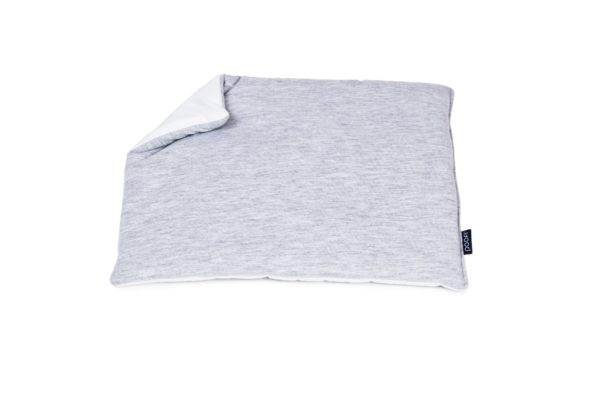 Baby Pillow Cotton Grey Pure 3