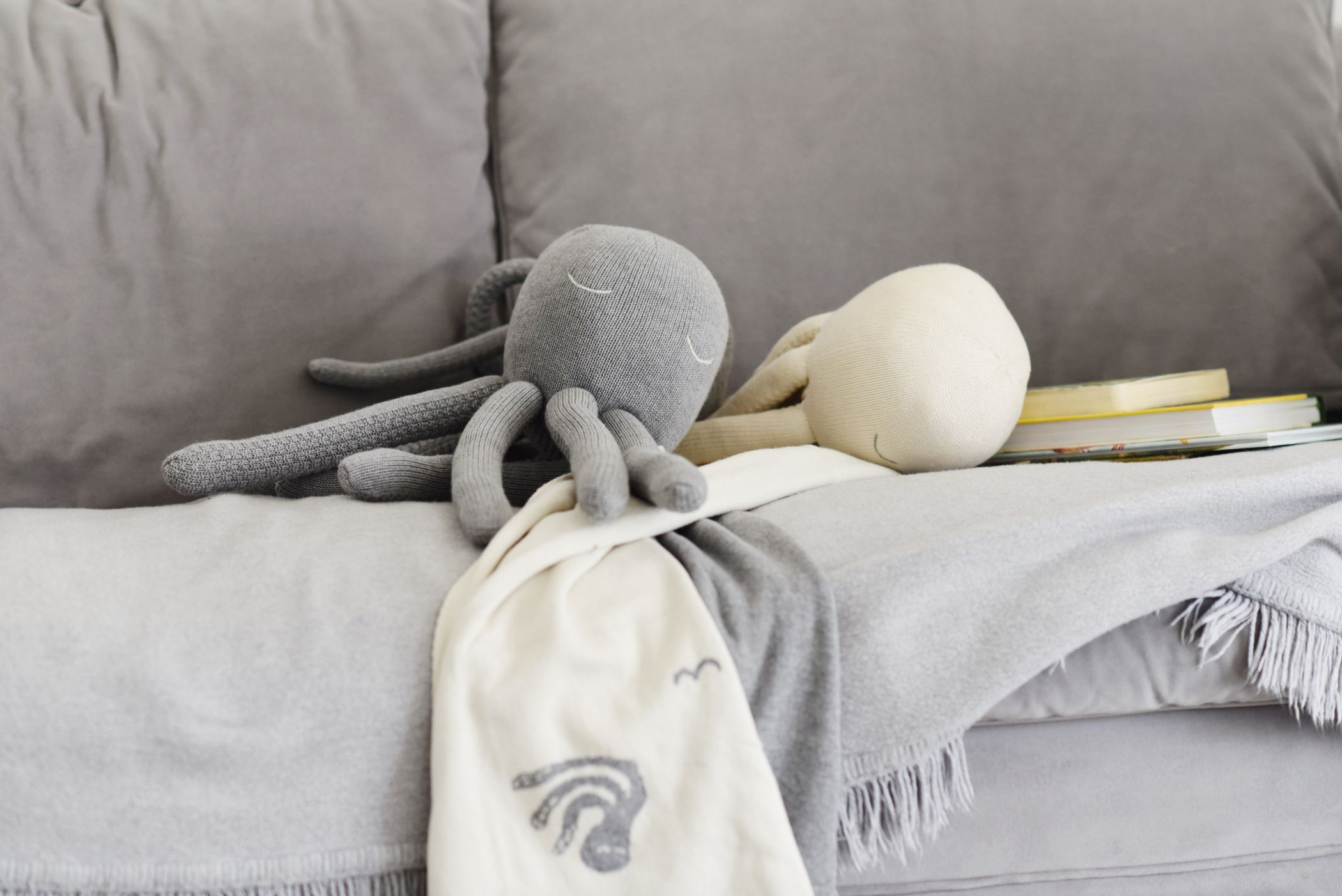 knitted octopus by poofi