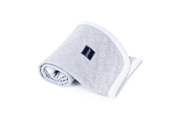 Blanket Cotton Grey Pure 3