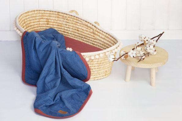 Blanket Organic Denim Color Mood
