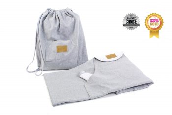 Carrying Wrap Cotton Grey Pure 5