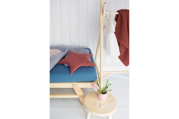 Duvet Pillow Star Pillow Mattress Sheet Organic Denim Maroon Color Mood
