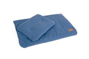 Duvet Pillow Organic Denim Color Mood