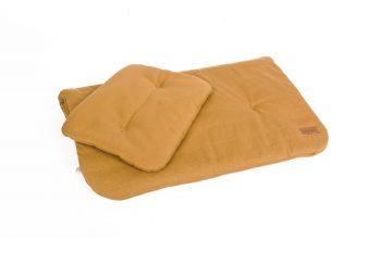 Duvet Pillow Organic Mustard Color Mood