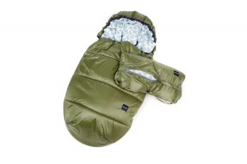 Footmuff Hand Muff Toray Cotton Minky Olive Green Color Mood