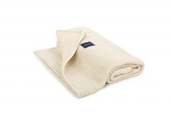 ecru blanket by Poofi