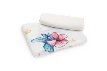 Bamboo muslin square 2-pack