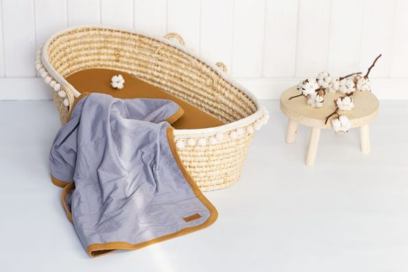 Cotton Blanket Organic Color Mood Grey