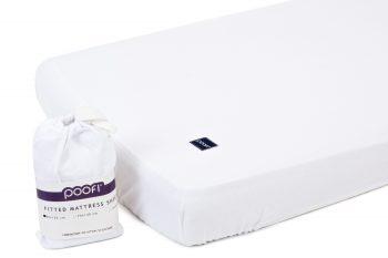 Mattress Sheet Cotton White Pure