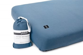 Mattress Sheet Organic Denim Color Mood