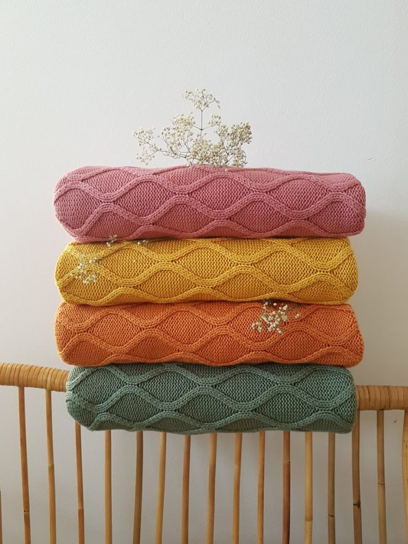 poofi knit blanket