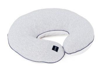 Nursing Pillow Cotton Grey White Pure