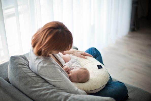 Nursing Pillow Minky Cream Pure 2