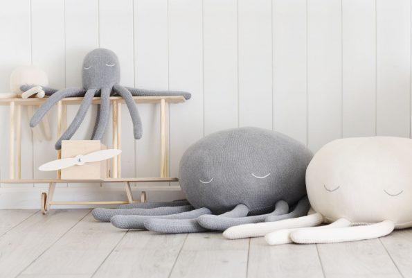 octopus pouf by poofi