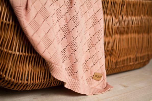 Openwork Knit Blanket Color Mood 10
