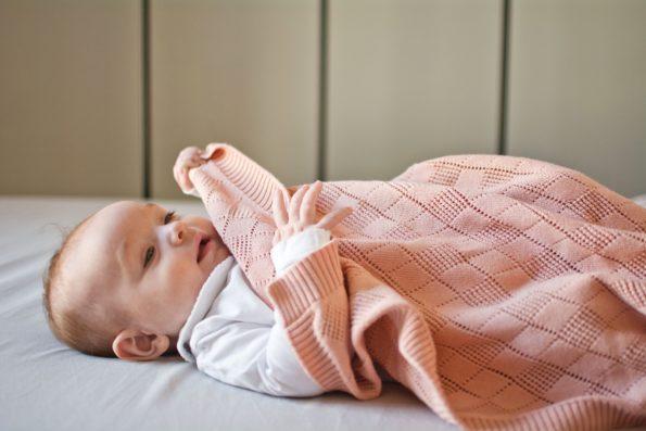 Openwork Knit Blanket Color Mood 2