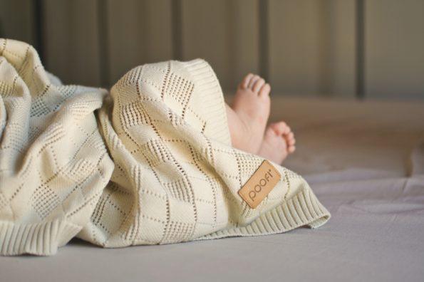 Openwork Knit Blanket Color Mood 3