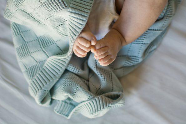 Openwork Knit Blanket Color Mood 5