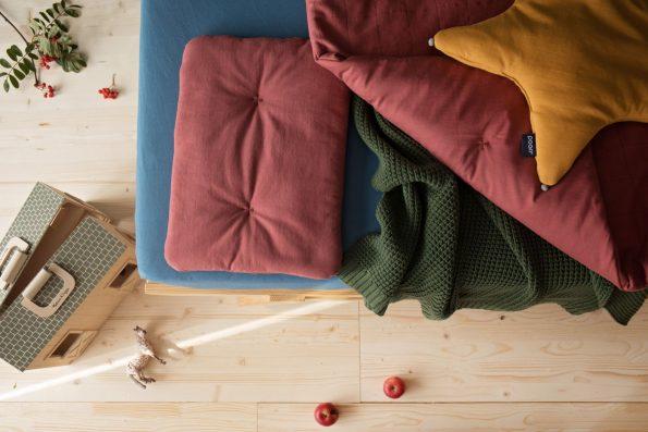 Pościel z wypełnieniem Poofi, baby bedding Organic&Color Poofi