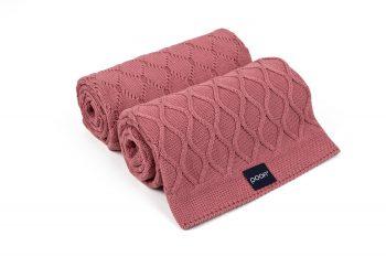 rosy blanket by poofi