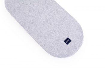 Stroller Mattress Sheet Cotton Grey Pure