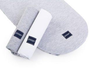 Stroller Mattress Sheet Cotton Grey White Pure