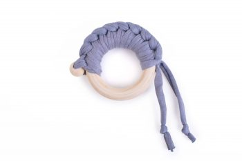 Teether Maple Organic Grey Color Mood
